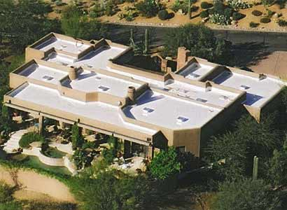 Polyurethane roof example